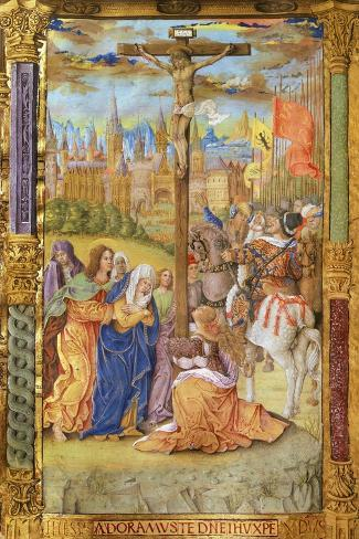 The Crucifixion of Jesus--Stretched Canvas Print