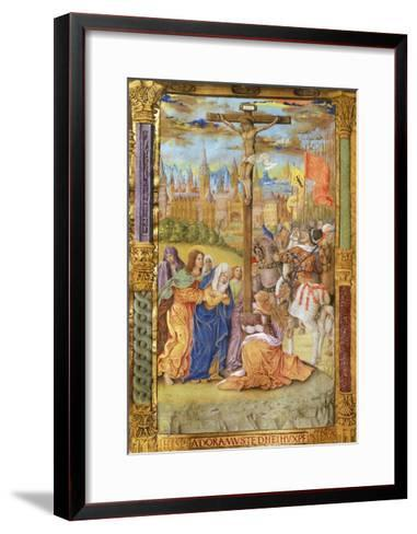 The Crucifixion of Jesus--Framed Art Print
