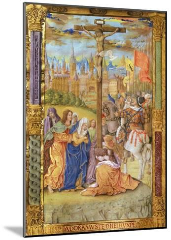 The Crucifixion of Jesus--Mounted Giclee Print