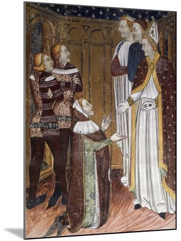Stories of St Stephen's Life--Mounted Giclee Print