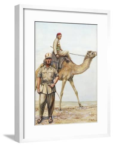 Libyan Military Police Officers, 1942--Framed Art Print