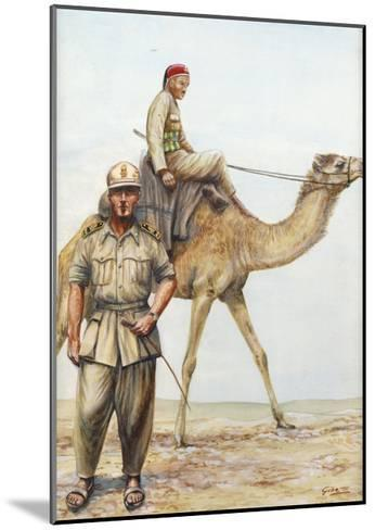 Libyan Military Police Officers, 1942--Mounted Giclee Print