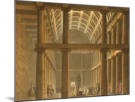 Italy, Milan, Ideal Reconstruction of Parthenon at Athens--Mounted Giclee Print