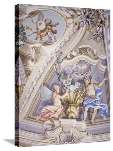 Detail of Frescoes--Stretched Canvas Print