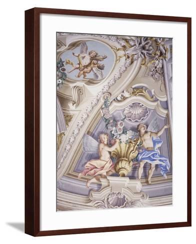 Detail of Frescoes--Framed Art Print