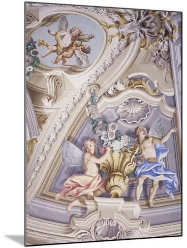 Detail of Frescoes--Mounted Photographic Print