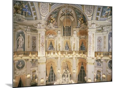 Murano Chandelier and Frescoes--Mounted Photographic Print