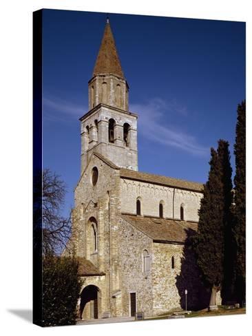 Glimpse of Patriarchal Basilica of Santa Maria Assunta--Stretched Canvas Print