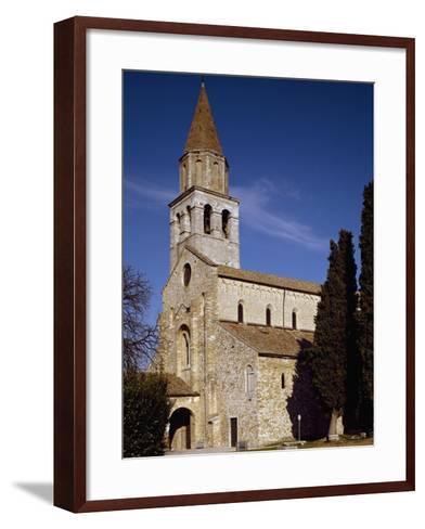 Glimpse of Patriarchal Basilica of Santa Maria Assunta--Framed Art Print