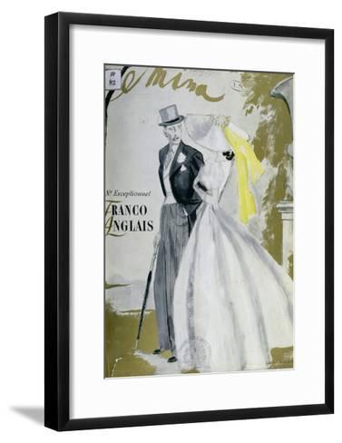 Cover of 'Femina' Magazine, June 1938--Framed Art Print