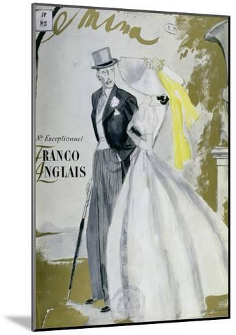 Cover of 'Femina' Magazine, June 1938--Mounted Giclee Print