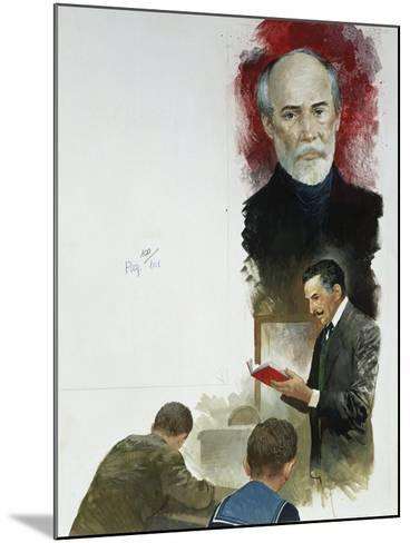 Giuseppe Mazzini from 'Heart'--Mounted Giclee Print