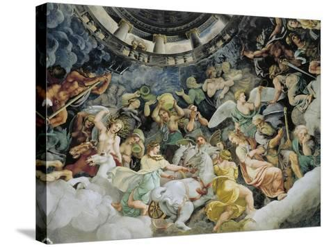Gods of Olympus--Stretched Canvas Print