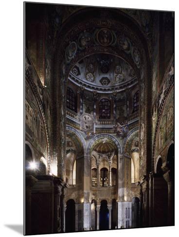 Glimpse of the Interior, Basilica of San Vitale--Mounted Photographic Print