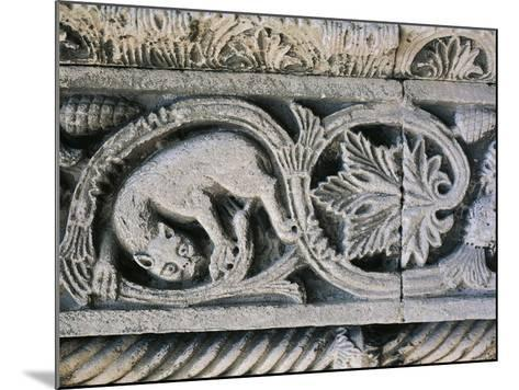 Detail from Decorative Frieze in Church of Santa Maria Della Piazza, Ancona, Italy, 11th Century--Mounted Giclee Print