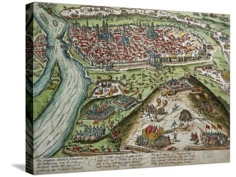 View of Rouen--Stretched Canvas Print