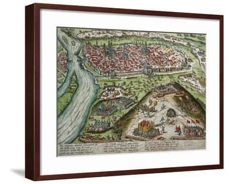 View of Rouen--Framed Art Print
