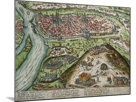View of Rouen--Mounted Giclee Print