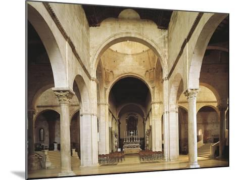 Interior of the Cathedral of San Ciriaco, Ancona, Italy, 11th-12th Century--Mounted Giclee Print