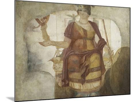 Seated Venus also known as Dea Barberini--Mounted Giclee Print