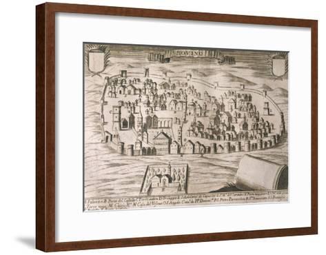 Italy, Bovino--Framed Art Print