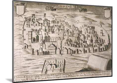 Italy, Bovino--Mounted Giclee Print