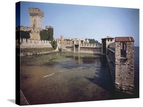 Scaliger Castle--Stretched Canvas Print