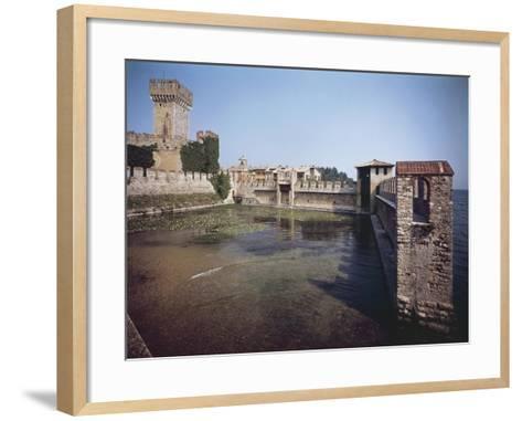 Scaliger Castle--Framed Art Print