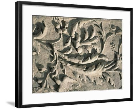 France, Decoration with Leaves and Birds--Framed Art Print
