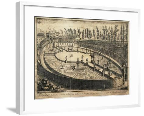 Italy, Lucca, View of the Wooden Amphitheatre Used for Horse Racing--Framed Art Print