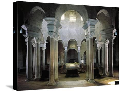 Twelve Pairs of Granite Columns Supporting Dome, Mausoleum of St Constance, Rome, Italy--Stretched Canvas Print