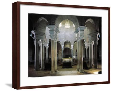 Twelve Pairs of Granite Columns Supporting Dome, Mausoleum of St Constance, Rome, Italy--Framed Art Print
