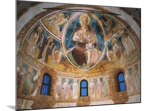 14th Century Fresco in Apse of Basilica of Twelve Apostles, Italy--Mounted Giclee Print