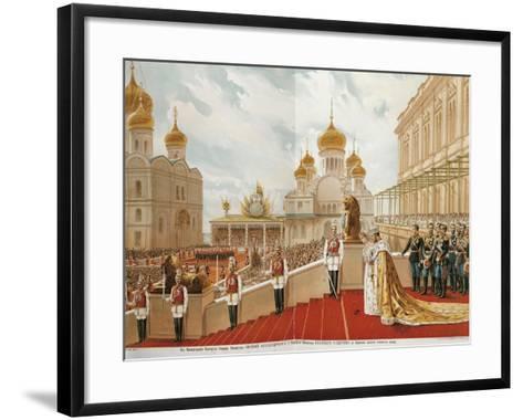 French, Paris, Coronation of Czar Nicholas Ii, 1896--Framed Art Print