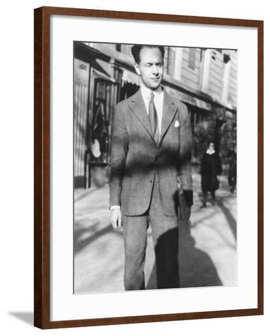Louis Aragon--Framed Art Print