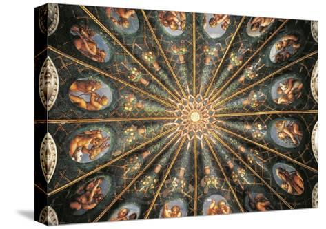 Decoration from St. Paul's Chamber or Abbess' Chamber--Stretched Canvas Print