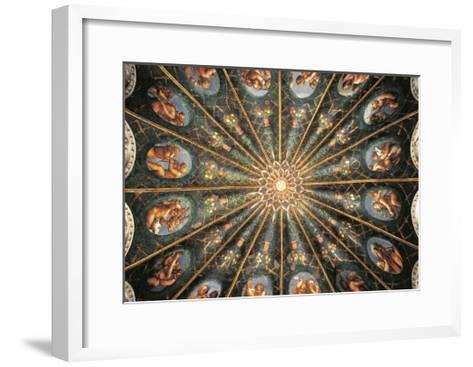 Decoration from St. Paul's Chamber or Abbess' Chamber--Framed Art Print