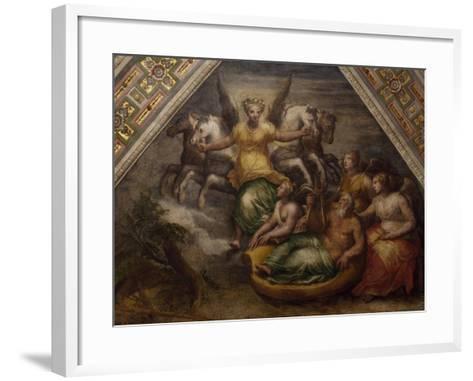 The Sunrise, Scene Form Cycle of Time, Workshop of Filippi--Framed Art Print