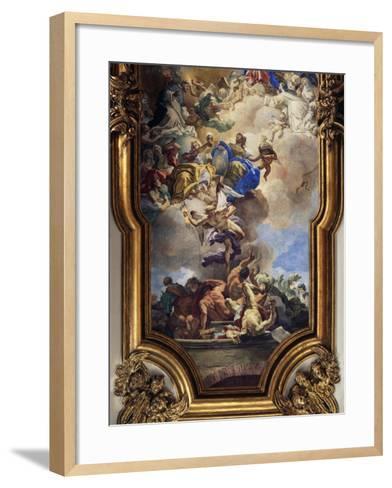 Triumph of Faith over Heresy of Dominicans--Framed Art Print