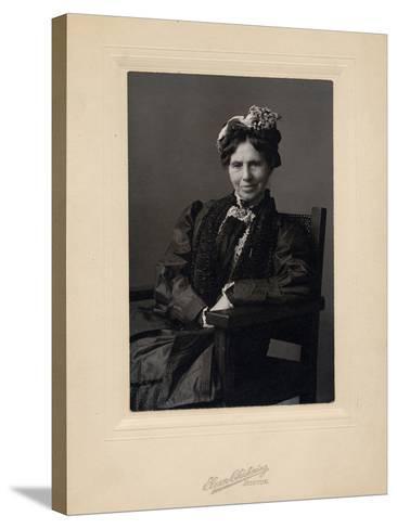 Clara Barton--Stretched Canvas Print