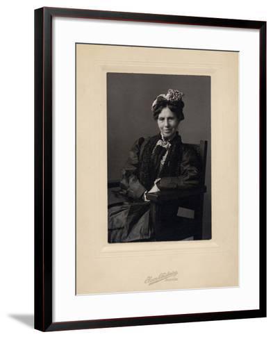 Clara Barton--Framed Art Print