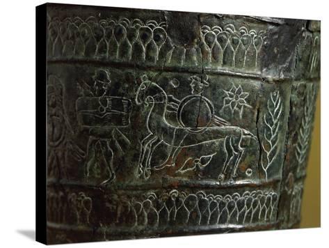 Etruscan Civilization, Bronze Arnoaldi Situla--Stretched Canvas Print