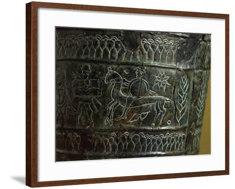 Etruscan Civilization, Bronze Arnoaldi Situla--Framed Art Print
