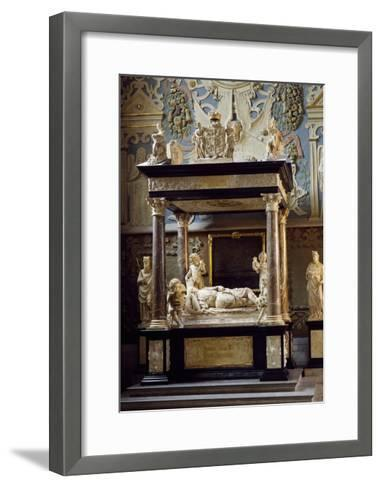 Funerary Monument for King John III of Sweden, Uppsala Cathedral, Sweden, 16th Century--Framed Art Print