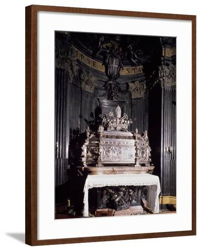 Urn Containing Relics of St Gaudenzio--Framed Art Print