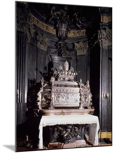 Urn Containing Relics of St Gaudenzio--Mounted Giclee Print