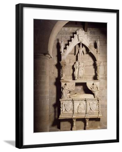 Funeral Monument, Church of Santa Maria Della Strada, Matrice, Molise, Italy--Framed Art Print