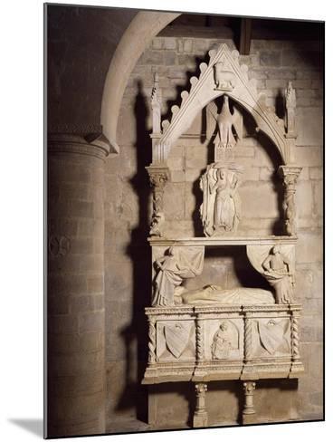 Funeral Monument, Church of Santa Maria Della Strada, Matrice, Molise, Italy--Mounted Giclee Print
