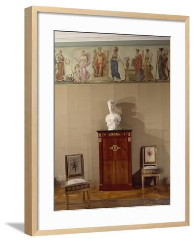 The Painted Frieze from Rue Chanterine--Framed Art Print