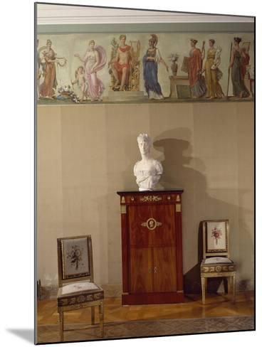 The Painted Frieze from Rue Chanterine--Mounted Giclee Print